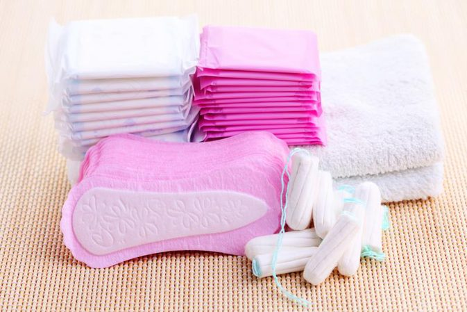 sanitary pads and the chemicals in them