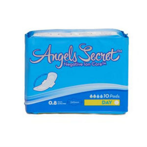 angels secret sanitary day pads