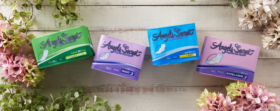 angels secret sanitary napkins all sizes