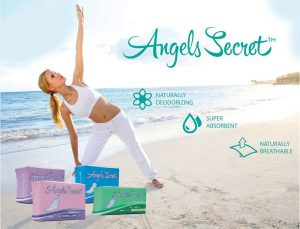 angels secret sanitary napkins for women